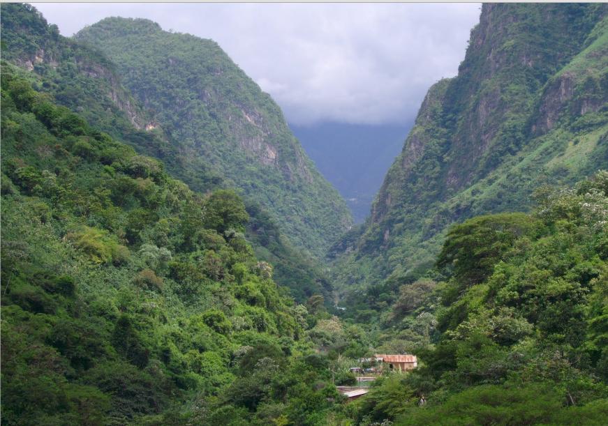 Bob LaGarde - Road trip through Central America - Beautiful Mountain Pass on CA-1 Guatemala