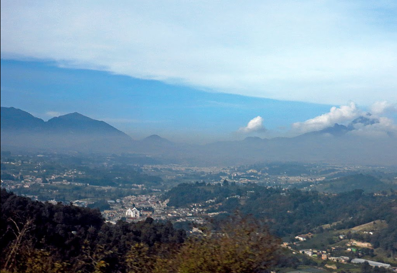 Bob LaGarde - Road trip through Central America - Beautiful view of Guatemala's San Cristobal community