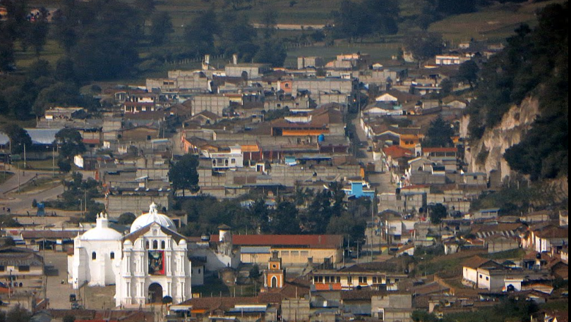 Bob LaGarde - Road trip through Central America - Beautiful view looking down on Guatemala's San Francisco community