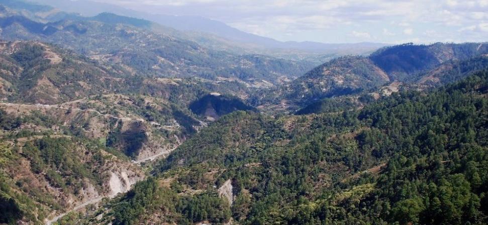 Bob LaGarde - Road trip through Central America - Mountain View Huehuetenango