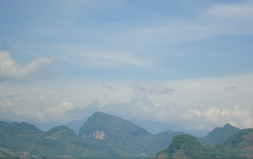 Bob LaGarde - Road trip through Central America - Mountains surrounding La Mesilla-Guatemala