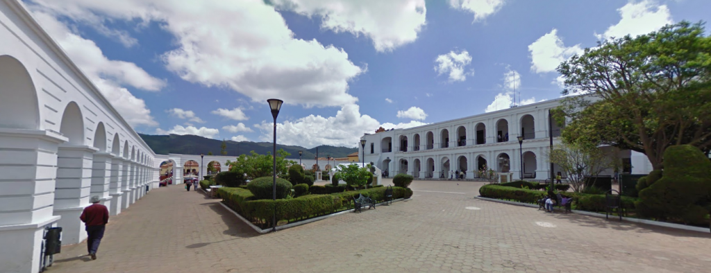 Bob LaGarde - Road trip through Central Amreica - Open air plaza el Centro San Cristobal