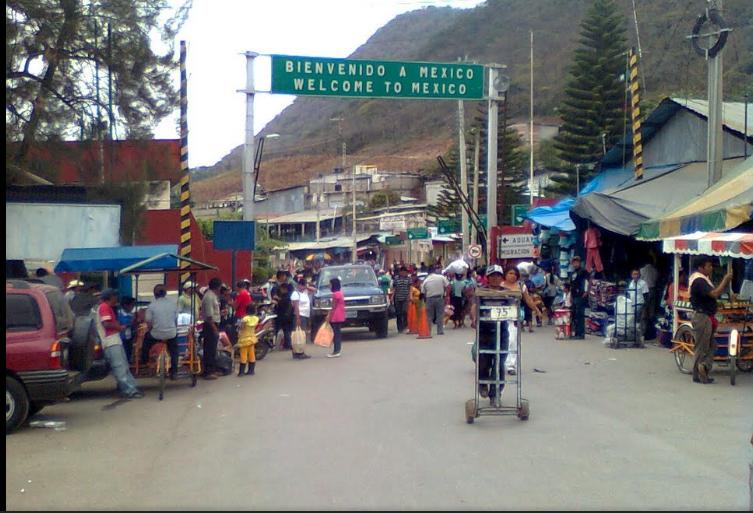 Bob LaGarde - Road trip through Central America - adios Mexico