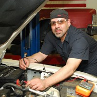Adulio, a gracious Mexican-American mechanic