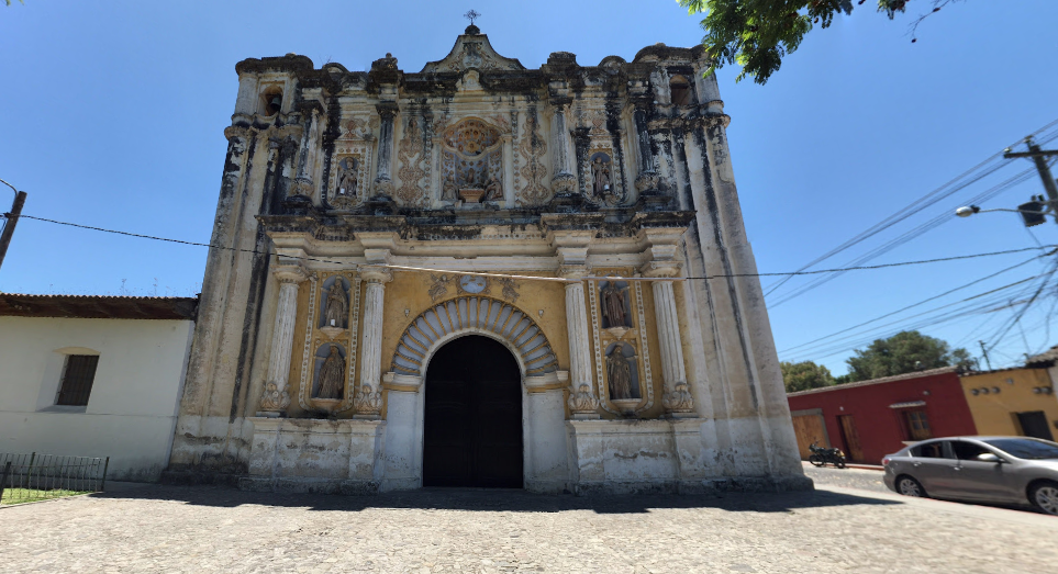 Bob LaGarde - Road trip through Central America - Another unknown church structure in Antigua