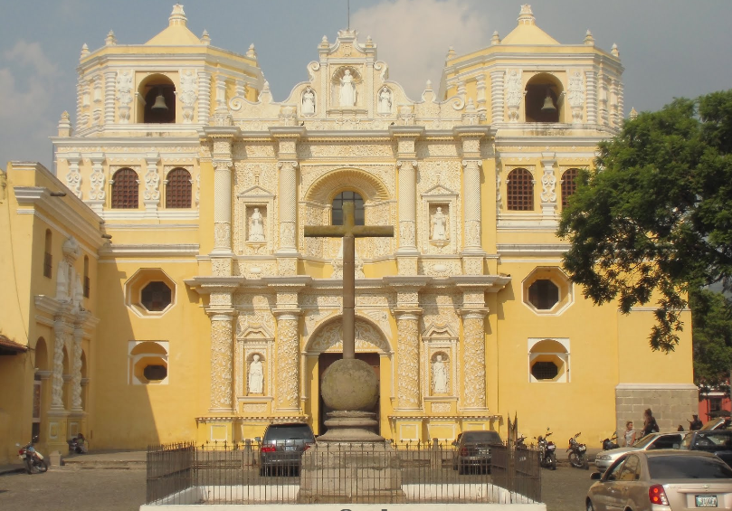 Bob LaGarde - Road trip through Central America - La Merced or the Yellow Church built in 1749