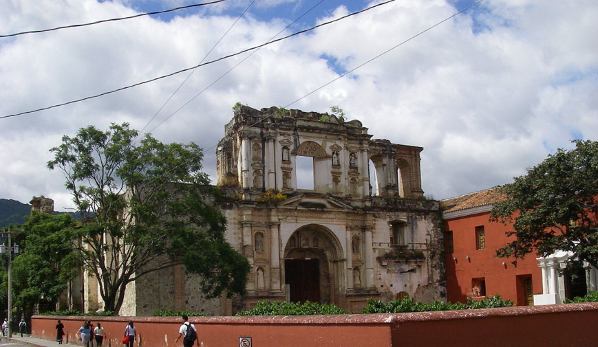 Bob LaGarde - Road trip through Central America - Ruins of the School of the Society of Jesus