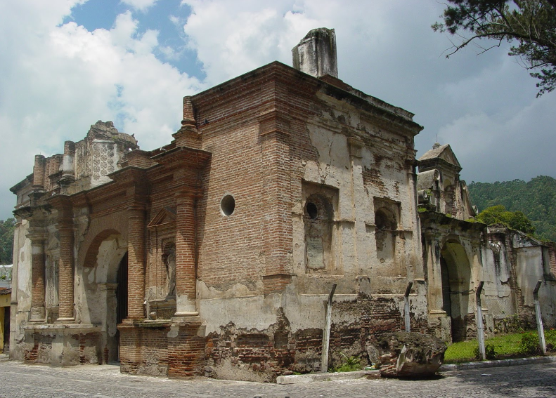 Bob LaGarde - Road trip through Central America - San Sebastian ruins - Antigua, Guatemala